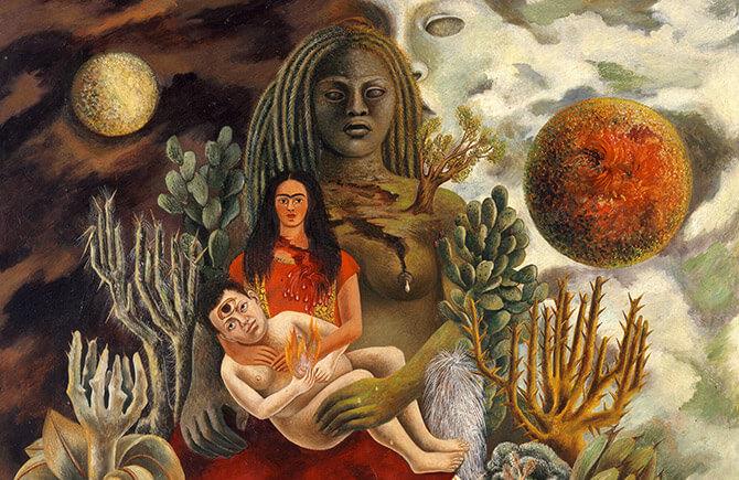 Mostra Frida Kahlo al Palazzo Albergati di Bologna - Arte Messicana del XX secolo.