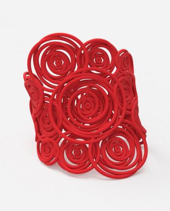 Bracciale Hula Hoop BIG colore rosso