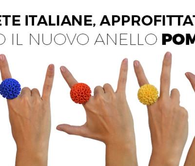 Anelli PomPon RARO Gioielli - Rossella Granata Designer
