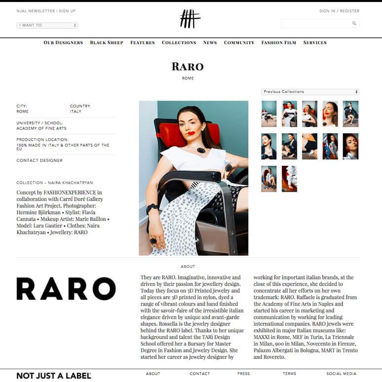 RARO in London - notjustalabel